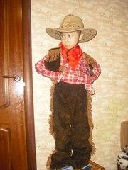 Карнавальные костюмы - ковбой,  ковбойша,  прокат троещина