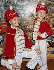 Карнавальные костюмы - гусар,  строитель,  воин, римлянин, прокат троещина